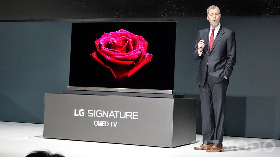 LG's New 4K OLED TVs Are Just Four Credit Cards Thick