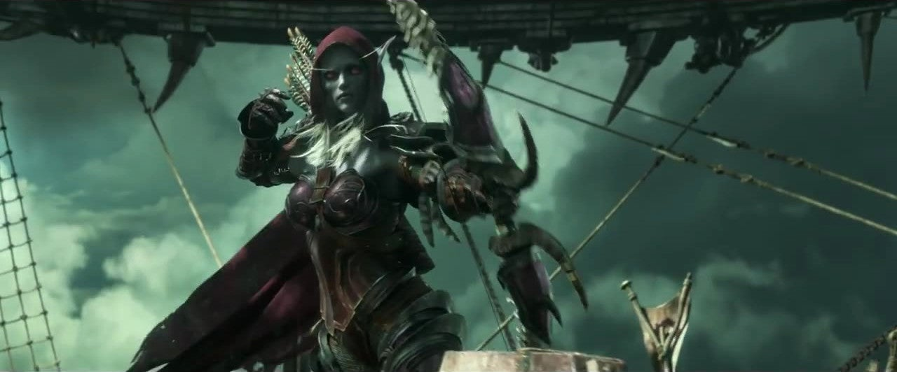 Sylvanas Windrunner, Forsaken Queen, Looking Badass (and Mildly NSFW)