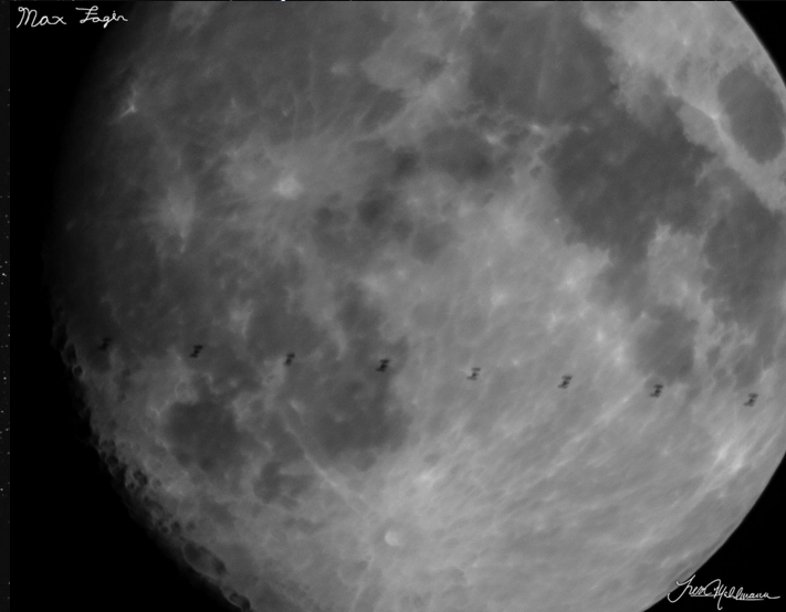 The ISS Transiting the Moon Is An Incredible Sight