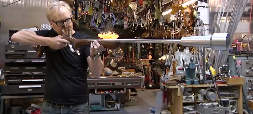 Watch Adam Savage Build Barbarella's Kickass Space Rifle