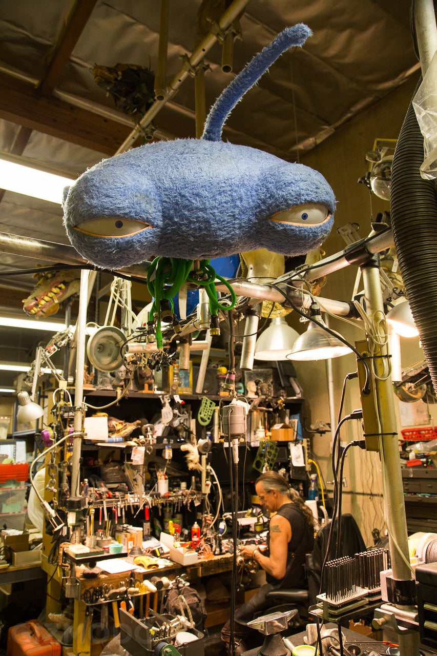 Inside Jim Henson's Creature Shop: Where Gadgets and Dreams Collide