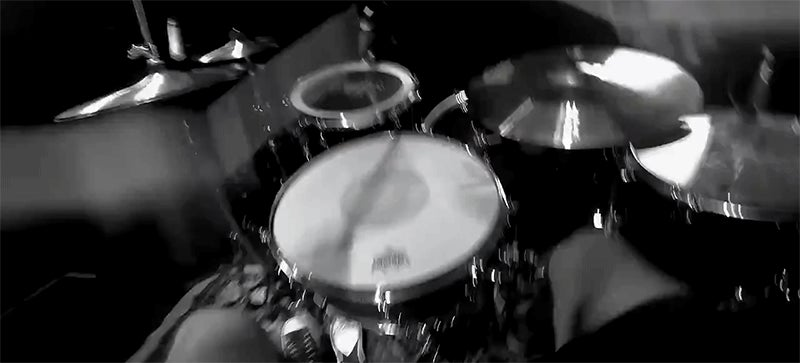 Drummer Backflips From One Drum Set to Another Mid-Solo