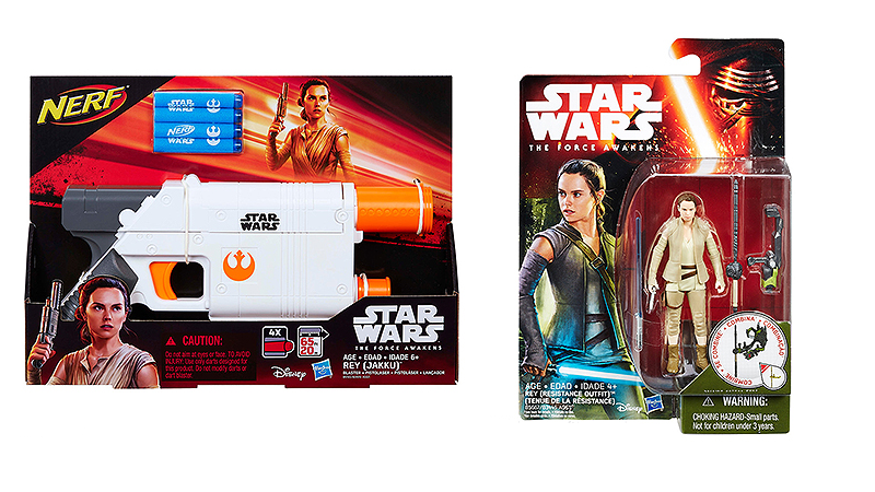 The Next Wave of Star Wars Toys is All About Rey