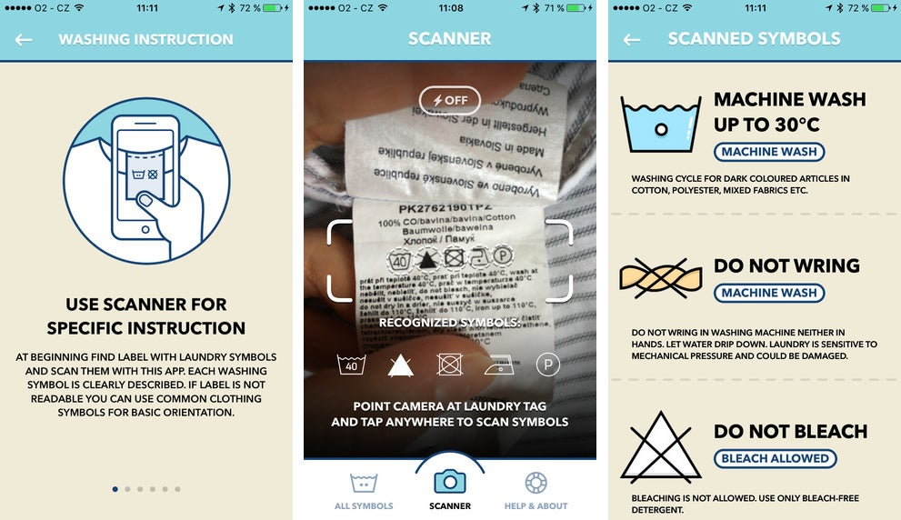 Brilliant Garment-Saving App Translates Those Confusing Laundry Tag Symbols