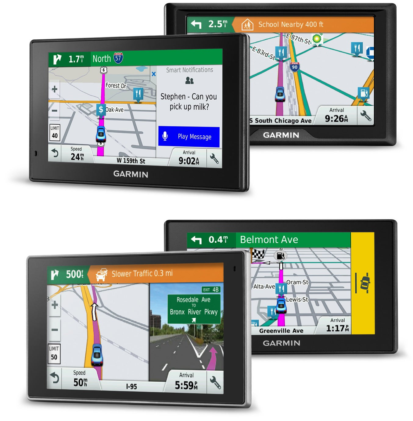Garmin's New Sat Navs Can Spot Hazards on the Road Before You Do