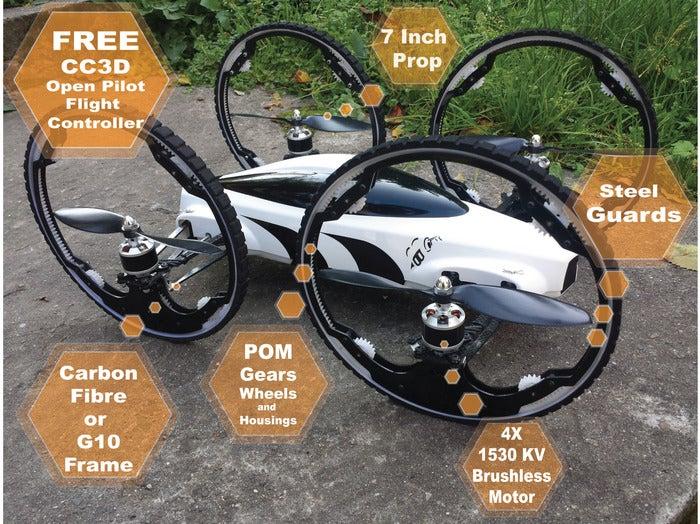 B Flying Car Drone B V1 has already been