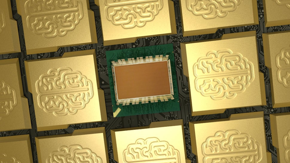 IBM's New Brain-Like Chip Squeezes One Million Neurons Onto a Stamp