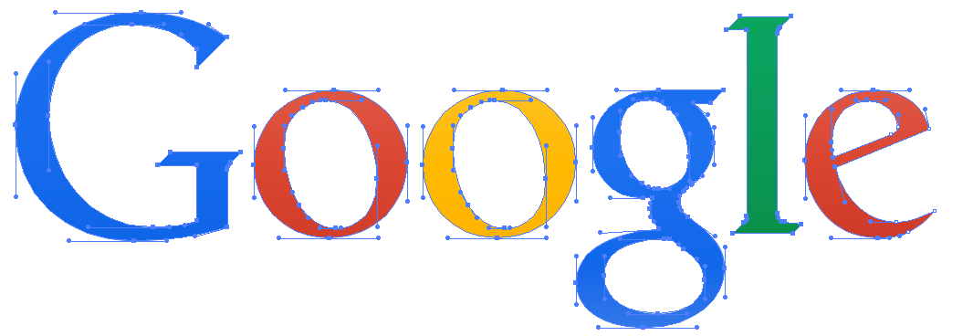 how could googles new logo be only 305 bytes when its old
