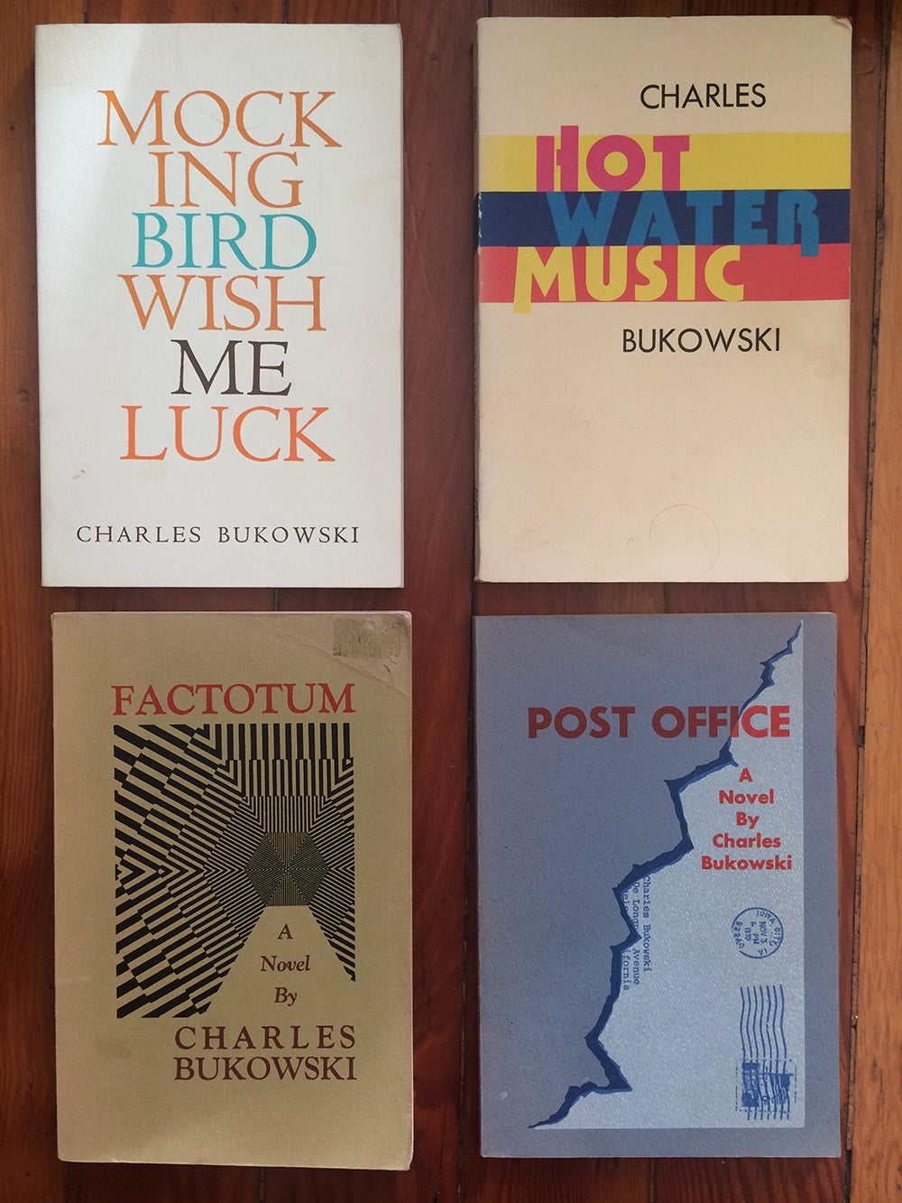 The Iconic, Legendary Designs of Black Sparrow Press Books