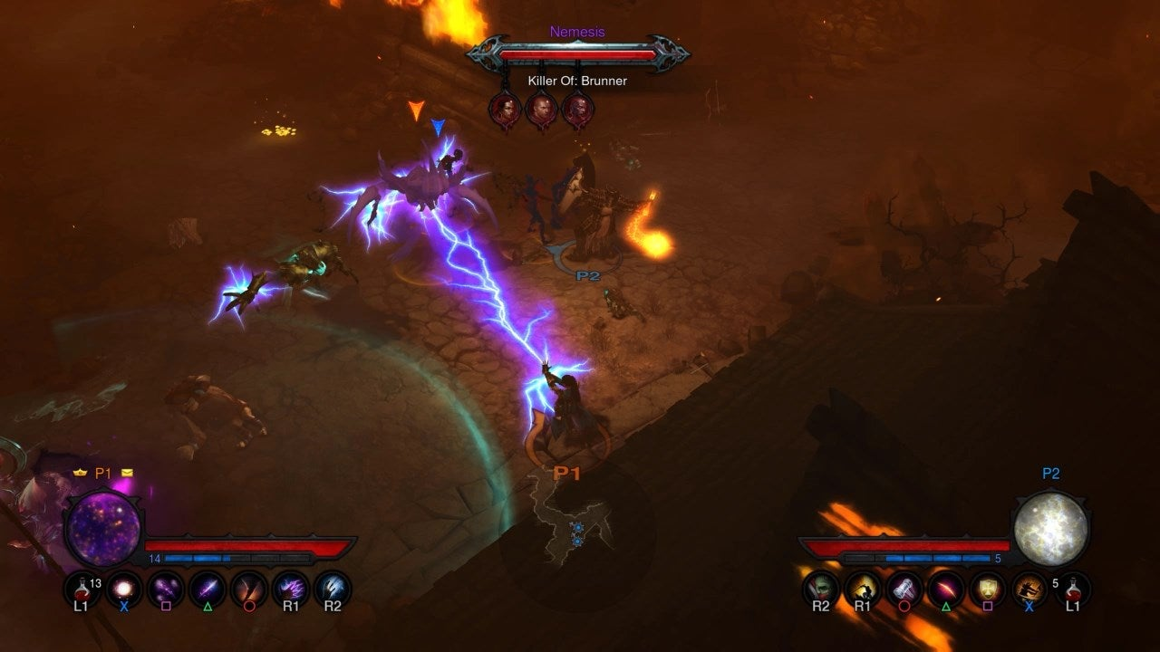how does diablo 3 play on console