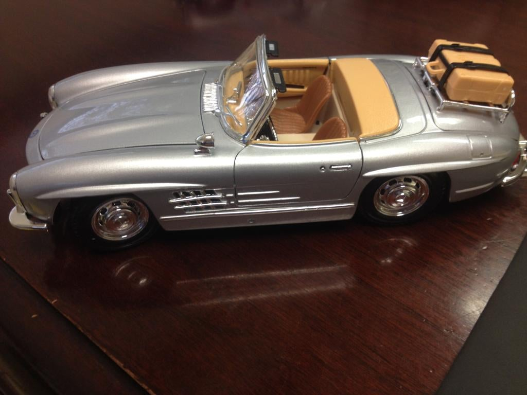 Its Mercedes Month On My Desk So I Thought What Better Way Than To Start Off This Series With A New Me 1957 300 SL Convertible Cost 1399 Plus Tax