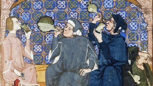 No, Medieval people didn't drink booze to avoid dirty water