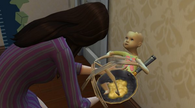 Oh Good, The Sims 4 Has Demon Babies