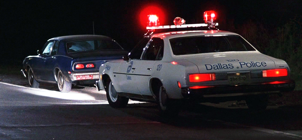 A scene from Errol Morris' 'The Thin Blue Line,' which the Academy passed on in 1988 because it features re-enactments.