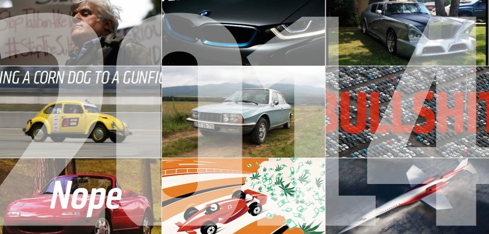 Our Favorite Jalopnik Stories Of 2014