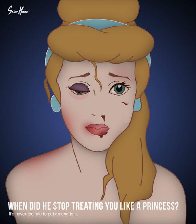 Artist Depicts Disney