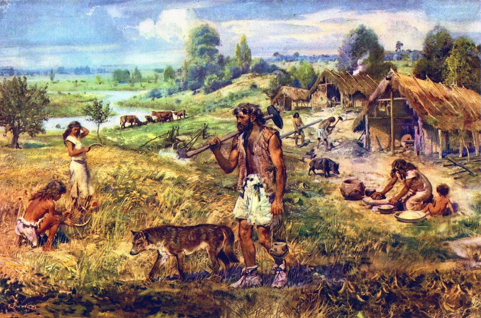 Ősi mezőgazdálkodás