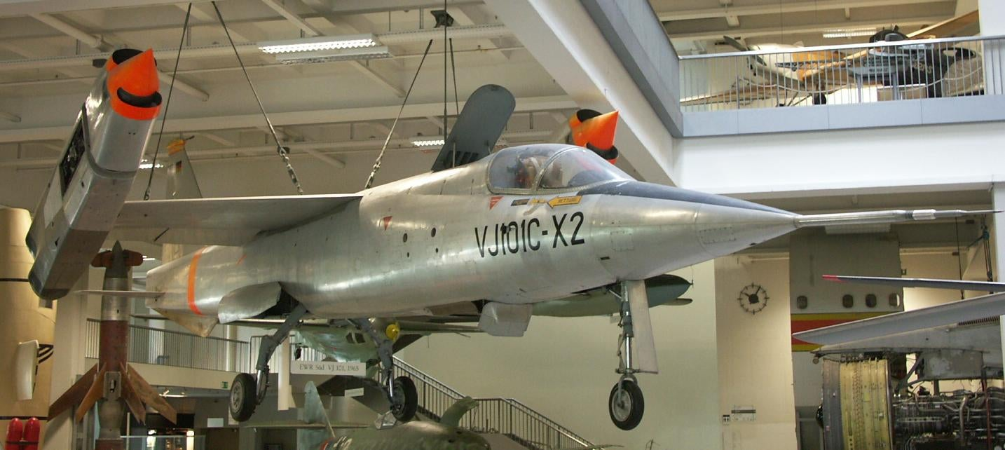 The EWR VJ 101C-X2 on display