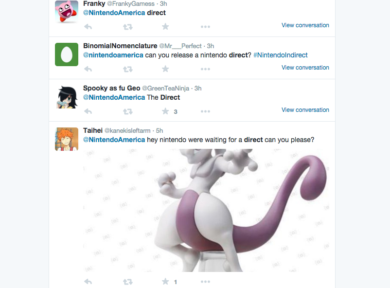 Nintendo Fans Are Thirsty For A New Nintendo Direct 03