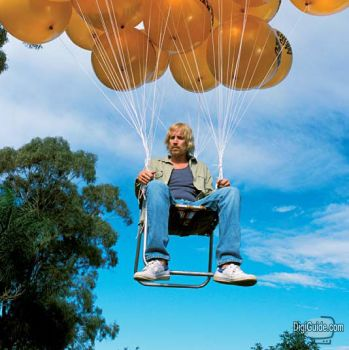 Doesnu0027t look as fun as balloons. & Build Your Own Hovering Lawn Chair For the Perfect Long Weekend Lounger