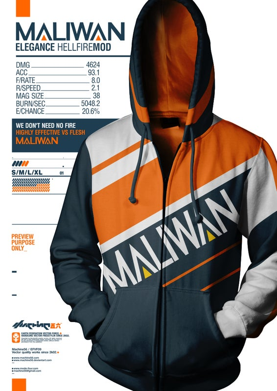 Where can I get my hands on this Maliwan Hoodie? : Borderlands