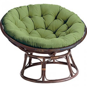 This Is A Papasan Chair. I Donu0027t Know What That Uncomfortable Looking Thing  Is.