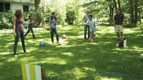 Turn Scrap Pipe Into A Fun Lawn Game