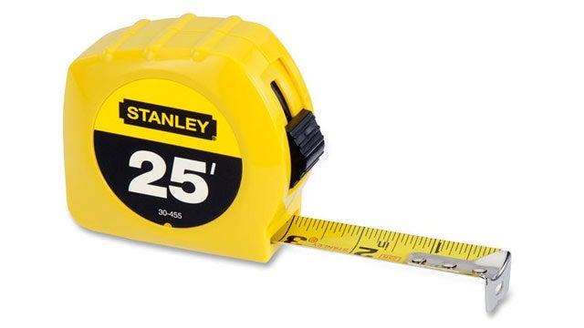 نوار اندازه گیری(متر) - ده ابزار تعمیر لوازم خانه