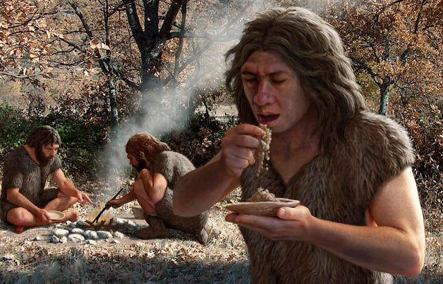 caveman cave men rejection paleo diet