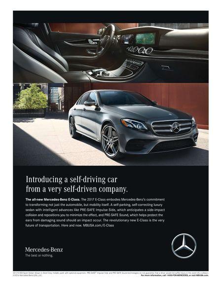 mercedes-benz self-driving e-class