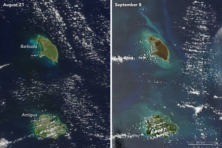 NASA Satellite Images Show How Hurricane Irma Devastated the ... on intellicast caribbean, outline map of the caribbean, us and caribbean, winds of the caribbean, america map of the caribbean, show map of the caribbean, relief map of the caribbean, weather large maps caribbean, waterways of the caribbean, sports of the caribbean, map of south caribbean, full map of caribbean, the map of the caribbean, temperature map of the caribbean, printable map caribbean, home of the caribbean, google maps of the caribbean, attractions of the caribbean, labeled map of the caribbean, political map of the caribbean,