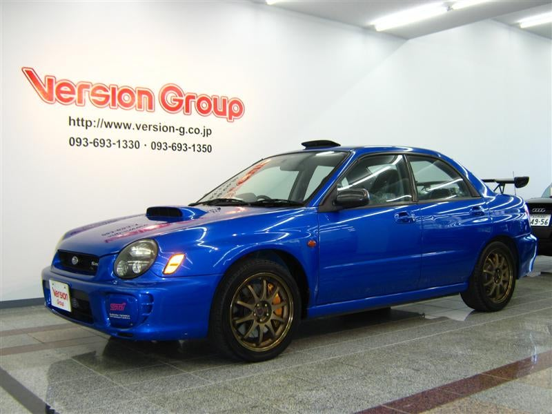 This Car Was An S Series Impreza Based On The Spec C All Of