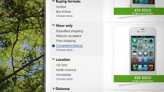 Search Ebay For Completed Listings To Know How Much Your Stuff Is Worth