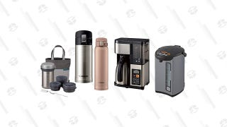 Save Big on Zojirushi Gear, Including a Number of Stainless Steel Travel Mugs, Today Only
