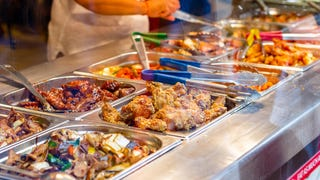 How do all-you-can-eat buffets make money?