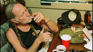 Willie Nelson launches line of CBD coffee—wait, he didn't already have one?