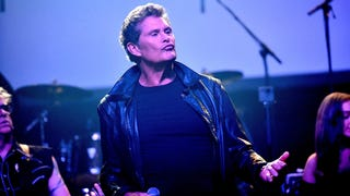 "David Hasselhoff displays excellent musical taste by covering Jesus And Mary Chain's ""Head On"""
