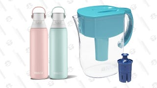 Save A Bunch On Brita Pitchers and Stainless Steel Bottles, Thanks to Amazon's Gold Box
