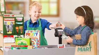 Forget Stupid Kitchen Play Sets, Your Kid Will Adore This Grocery Store Checkout
