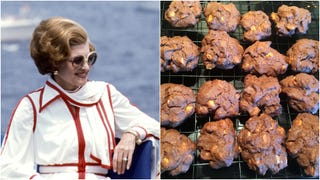 Betty Ford's Thanksgiving chocolate cookies are a '70s masterpiece