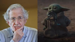 """Noam Chomsky has """"never heard of Baby Yoda"""" and has """"no thoughts about memes"""""""