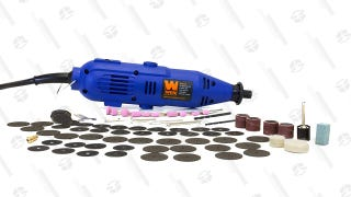 Polish, Sand, Drill, And More With This $13 WEN Rotary Tool Kit