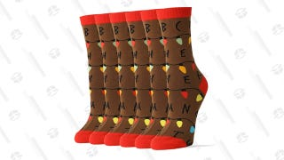 Tiptoe Into the Upside Down With This 3-Pack of Stranger Things Socks For $7