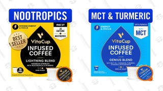 Save Up to 32% on VitaCup Infused Coffee and Tea Pods