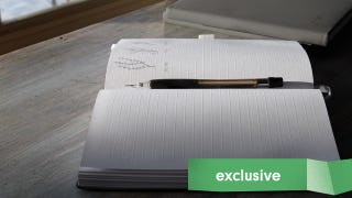 Give the Gift Of Ghost Paper's Embossed Line Notebooks For 20% Off [Exclusive]