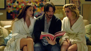 Keanu goes full Cage in Eli Roth's sick home-invasion comedy Knock Knock