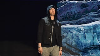 Eminem surprise-drops the pro-gun control, Alfred Hitchcock-homaging rap album of our dreams