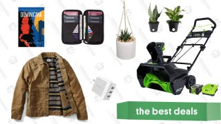 Sunday's Best Deals: Flint & Tinder Jackets, House Plants, Greenworks Snow Throwers, and More