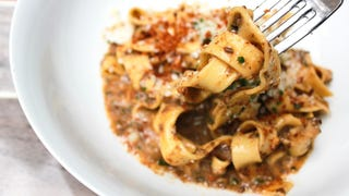 This mushroom bolognese is so rich it made the Fortune 500