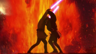 Watch Anakin And Obi Wan S Lightsaber Duel Reenacted In Front Of A Massive Orchestra